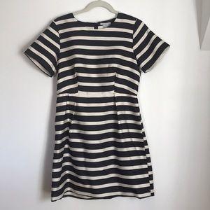 H&M NWT Navy striped dress size 12